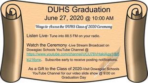Watch Graduation Live