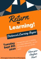 DUHS Return to Learning-Sept. 8