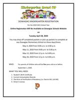 Kindergarten Round-up Information