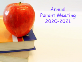 Title 1 - Annual Parent Meeting