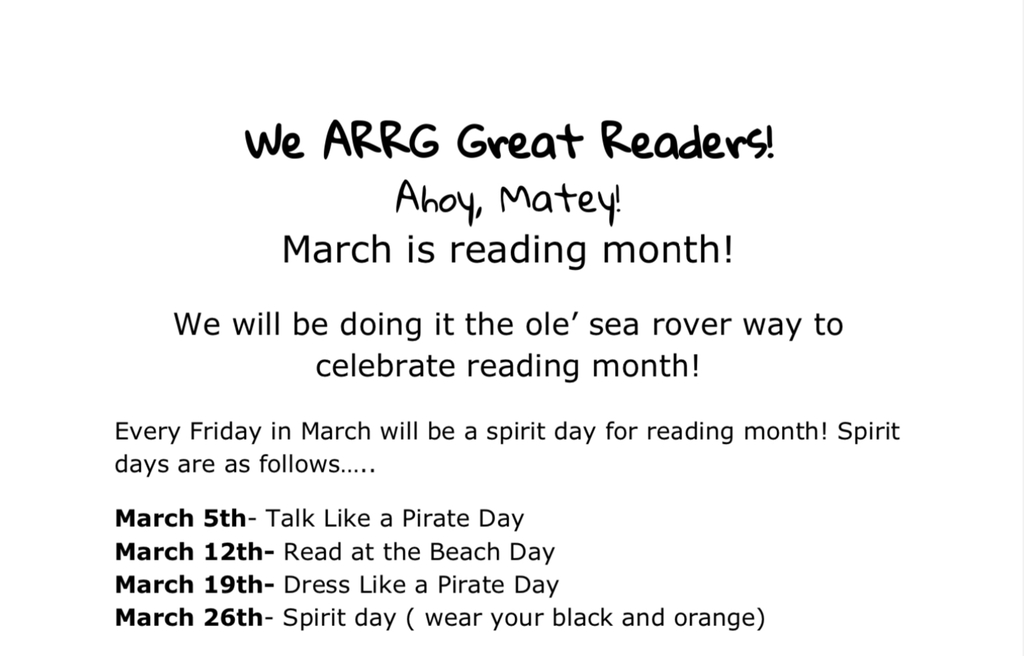 March Reading Month