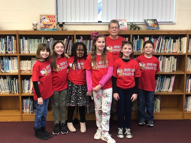 4th Grade Spelling Bee Team