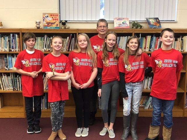5th Grade Spelling Bee Team