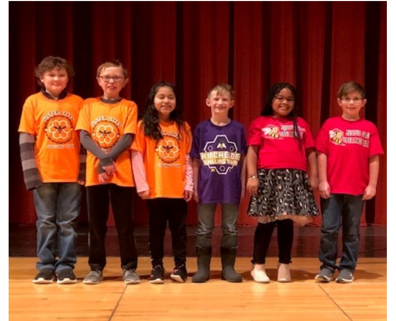 4th & 5th Grade District Spelling Bee Competitors